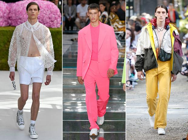 Фото №1 - 11 трендов c Недель мужской моды SS19, которые пригодятся не только мужчинам
