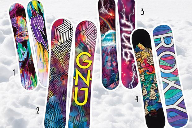 Фото №2 - 20 крутых сноубордов