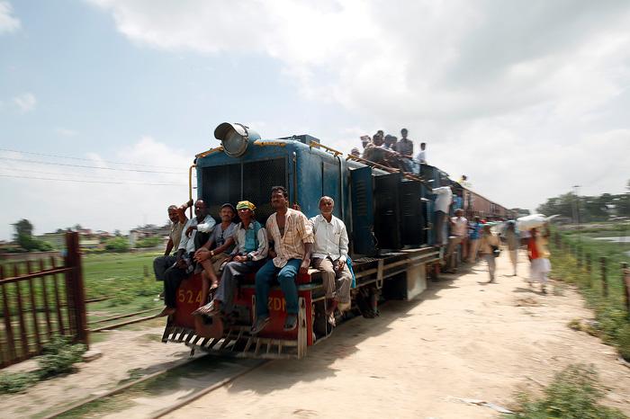 Фото №2 - Прибытие поезда: фоторепортаж из Непала