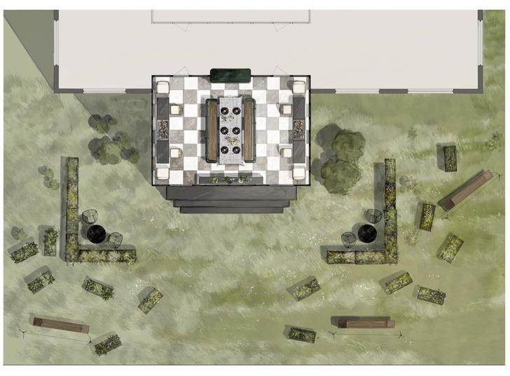 Фото №2 - Готовый проект: крытая терраса в саду