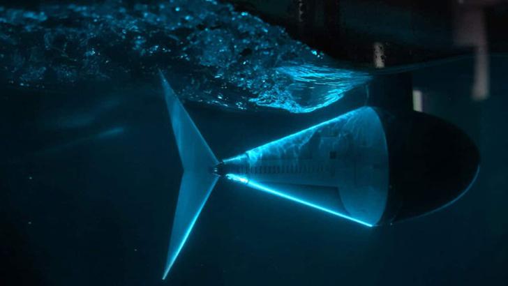Фото №1 - Инженеры изобрели устройство для быстрого передвижения под водой