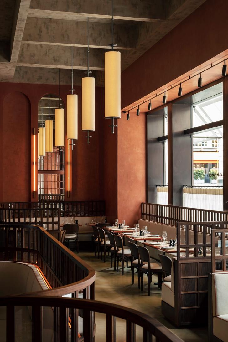 Фото №2 - Декадентский интерьер ресторана в Лондоне