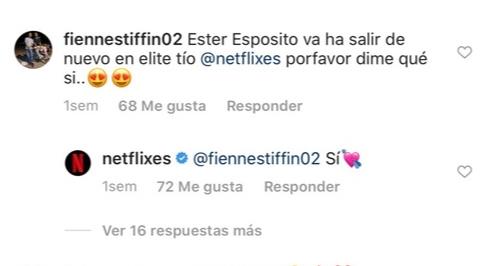 Фото №1 - Да ладно? Netflix намекнули, что Эстер Экспосито все-таки появится в четвертом сезоне «Элиты»