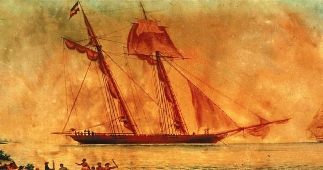Фото №1 - В США нашли обломки последнего рабовладельческого корабля
