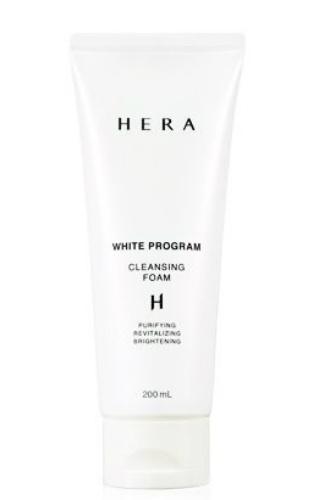 HERA white program Cleansing foam