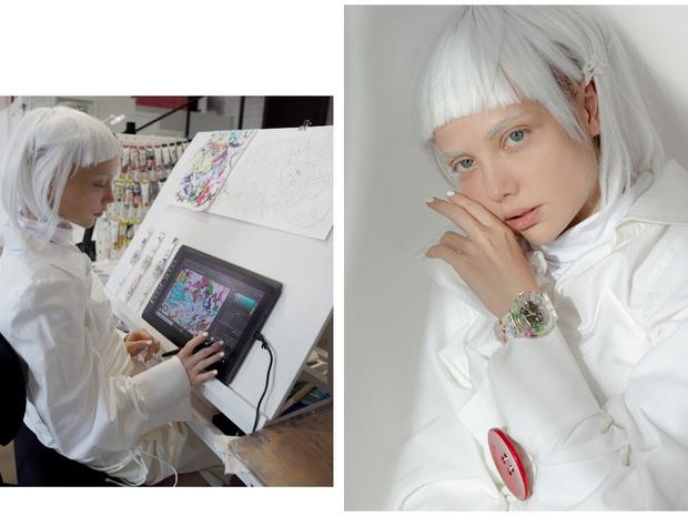Фото №2 - Новая российская коллаборация Swatch x YOU: часы с креативом художницы Эллен Шейдлин