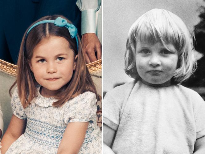 Фото №8 - Глаза Дианы, улыбка Елизаветы: с кем теперь сравнивают принцессу Шарлотту