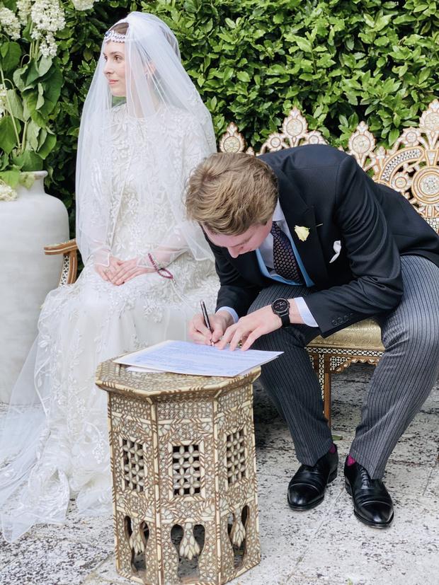 Фото №1 - Первая королевская свадьба в этом году: принцесса Иордании Райя вышла замуж в Лондоне