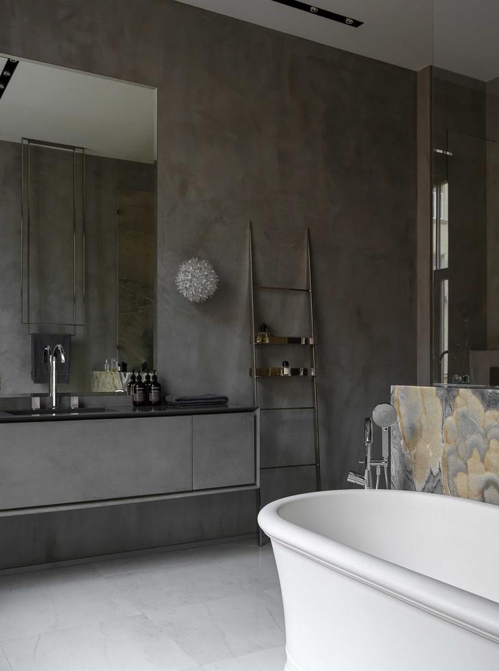 Фото №21 - Винтаж и современность: элегантная квартира на Патриарших прудах 300 м²