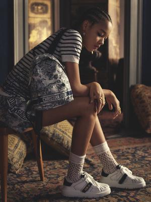 Фото №3 - В стиле ретро: как выглядят новые кроссовки Dior