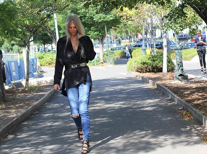 Фото №8 - Неделя моды в Нью-Йорке: streetstyle пятого дня