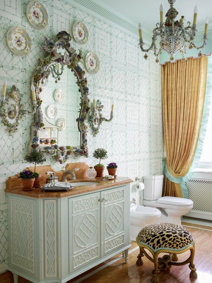 Фото №2 - Вопросы читателей: люстра в ванной комнате