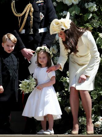 Фото №10 - Мамина дочка: 11 раз, когда Кейт и Шарлотта появлялись в парных образах