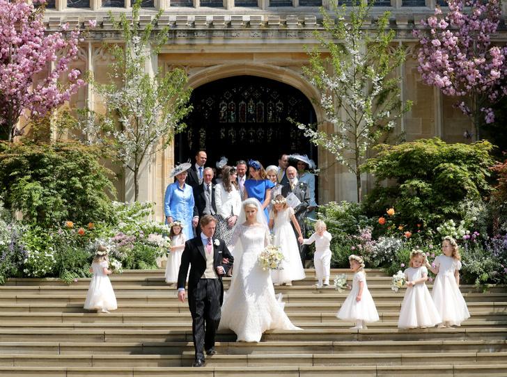 Фото №1 - Свадьба Леди Габриэллы Виндзор и Томаса Кингстона