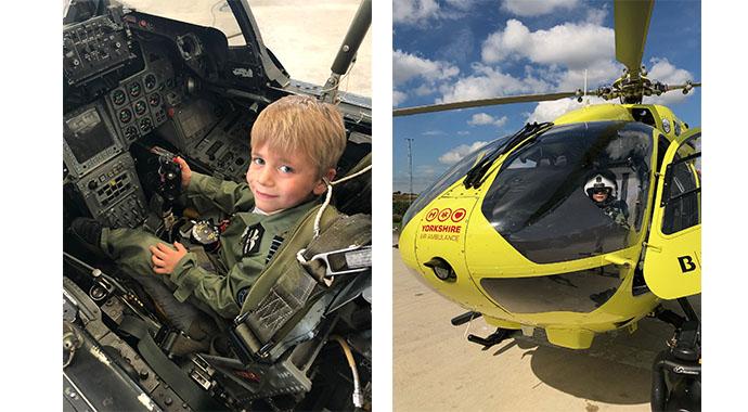 Мальчик в 7 лет стал пилотом и посвятил свой полет маме, которая умерла от рака