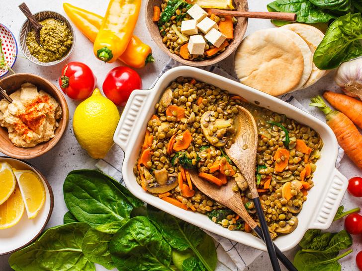 Фото №1 - 5 вегетарианских блюд, которые понравятся мясоедам
