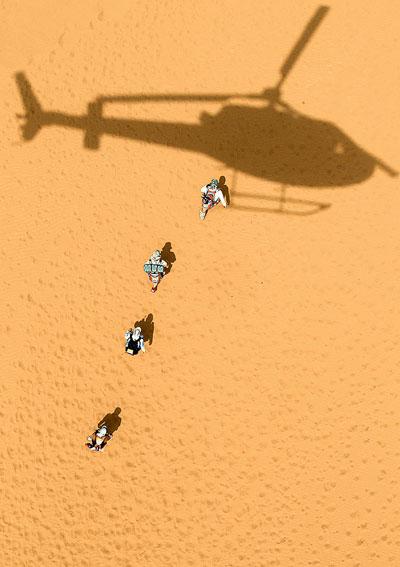 Фото №3 - След на песке