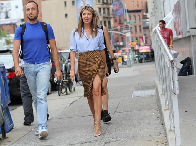 Фото №3 - Образы гостей недели моды в Нью-Йорке в прошедшие выходные
