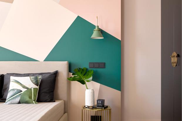 Фото №16 - Цветные сны: Color Blocking в спальне