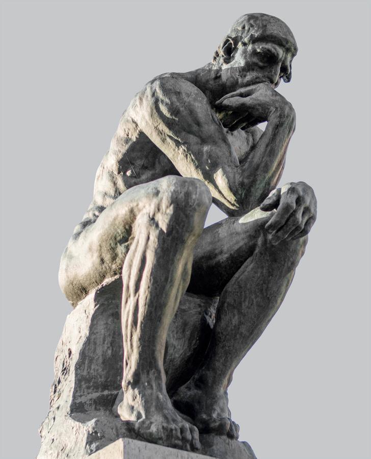 Фото №2 - Восставшие из ада: «Мыслитель» Родена и покинувший «Врата ада»