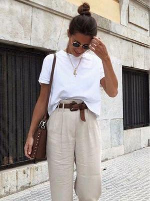 Фото №7 - С чем носить белую футболку: 10 простых и стильных образов