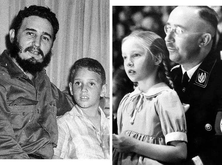 Фото №1 - Грехи отцов: как сложились судьбы детей диктаторов XX века