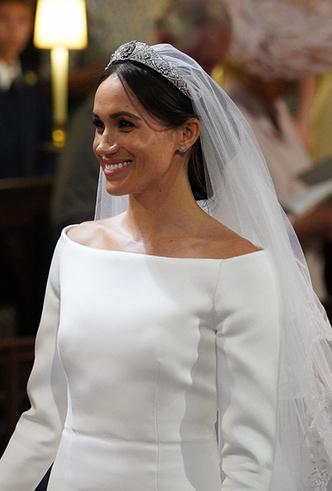 Фото №6 - От Одри Хепберн до Меган Маркл: знаменитые невесты в платьях Givenchy