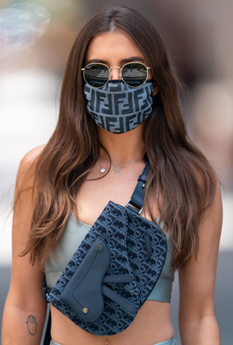 Фото №3 - Новая норма: как защитные маски стали главным трендом года