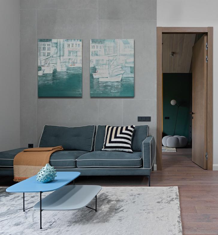 Фото №16 - Дом в Подмосковье 250 м² с камином и большими окнами