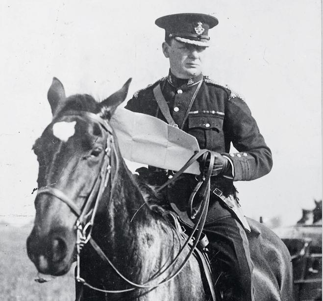 Черчилль занимался верховой ездой до 65 лет