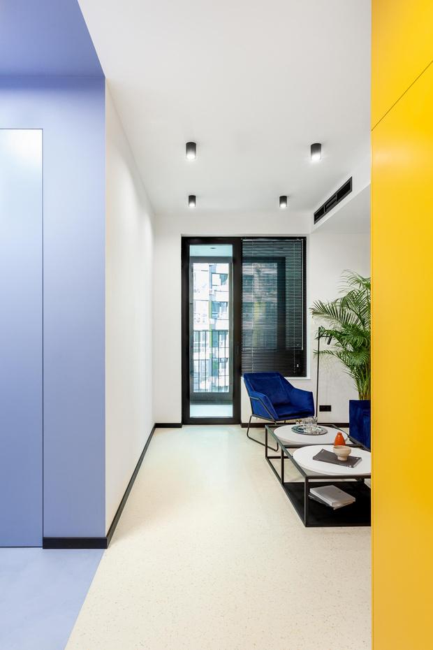Фото №1 - Студия персональных тренировок 42 м² по проекту бюро Monoform