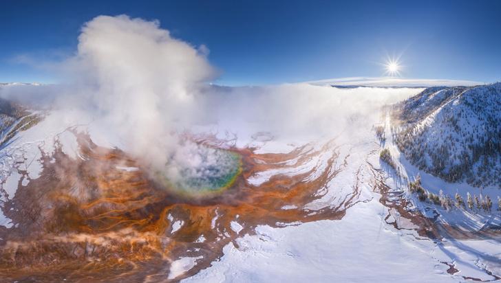 Фото №1 - Вулканологи сделали прогноз по Йеллоустону