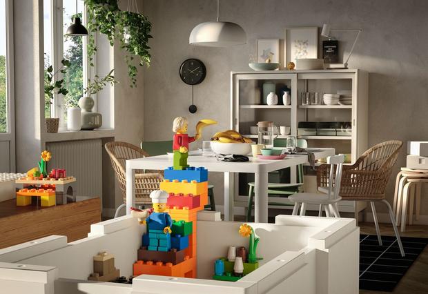 Фото №2 - Коллаборация ИКЕА и LEGO скоро в продаже
