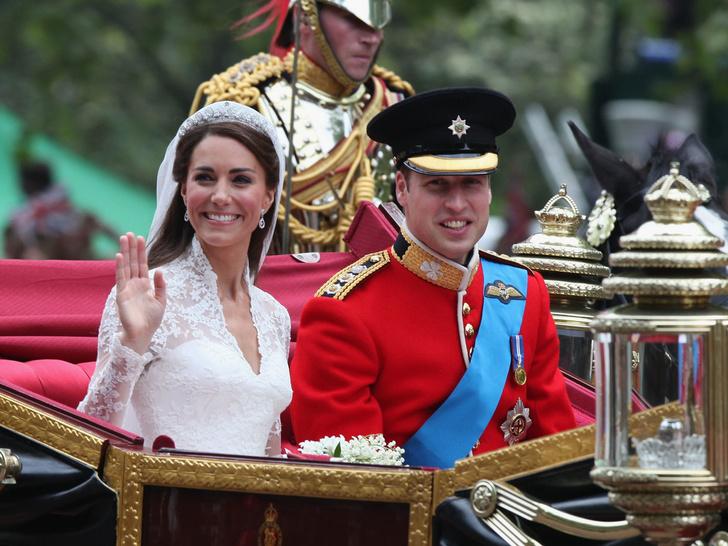 Фото №1 - Еще 8 любопытных фактов о свадьбе Кейт и Уильяма, которых вы точно не знали
