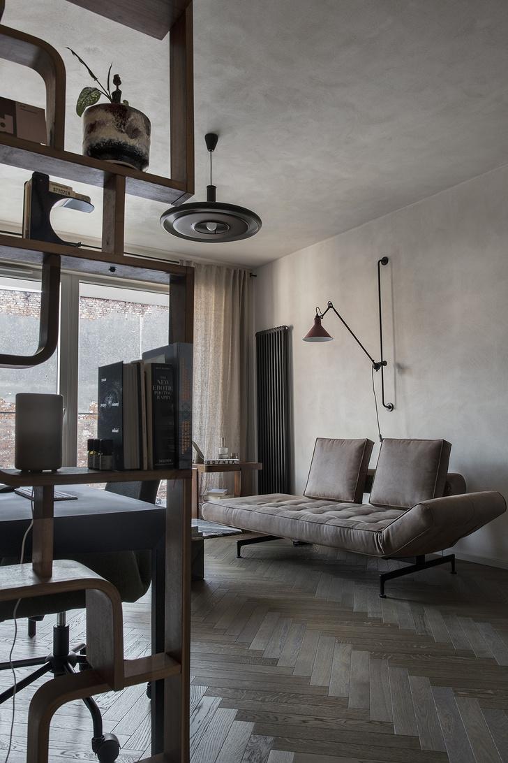Фото №1 - Квартира 45 м² с винтажной мебелью в Гданьске