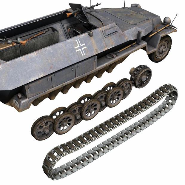 Фото №6 - Почему у немецких танков были такие странные гусеницы