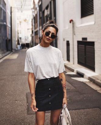 Фото №5 - С чем носить белую футболку: 10 простых и стильных образов
