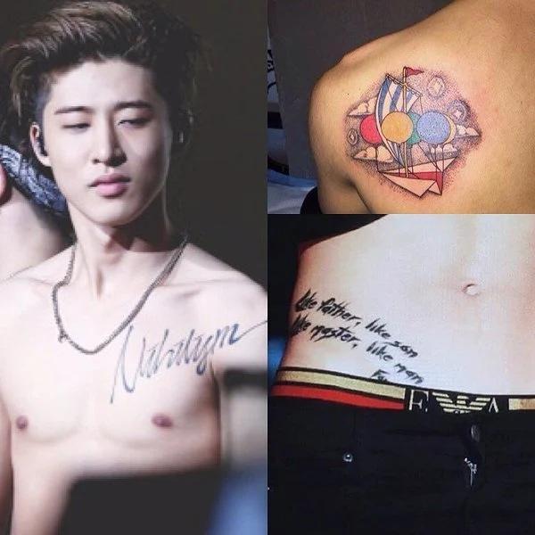 Фото №15 - 18 татуировок айдолов, о которых ты могла не знать