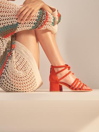 Фото №13 - Тренды весны в новой коллекции сумок и обуви Sandro SS17