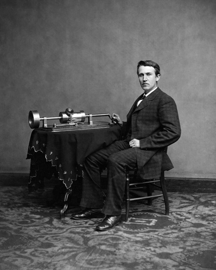 Фото №1 - Томас Эдисон пытался создать устройство для общения с мертвыми