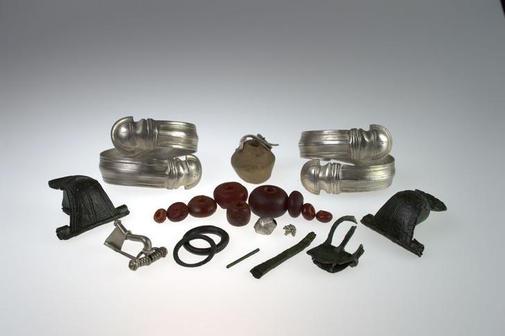 Фото №1 - Готские ювелиры создавали украшения из серебра высокой пробы