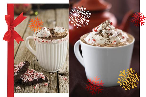 Горячий шоколад с арахисовым маслом