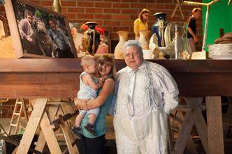 Фото №5 - В гостях на съемочной площадке фильма «Год Белого слона»