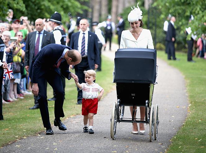 Фото №35 - Принц Джордж Кембриджский: три года в фотографиях