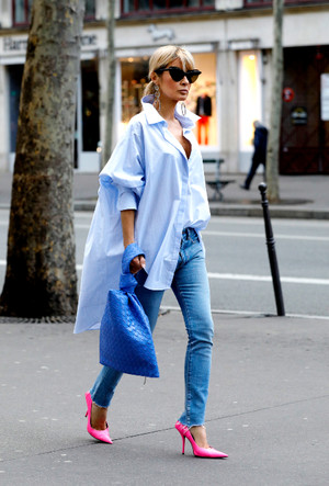 Фото №14 - С чем носить джинсы скинни сегодня: модные советы и удачные сочетания