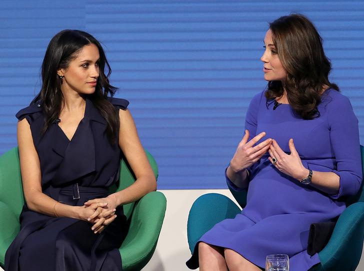 Фото №1 - Как Меган и Кейт относятся друг к другу: наблюдения экспертов по языку тела