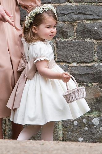 Фото №3 - Принцесса Шарлотта и принц Джордж на свадьбе Пиппы Миддлтон (фото)