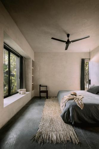 Фото №13 - Бруталистская бетонная вилла в джунглях Тулума