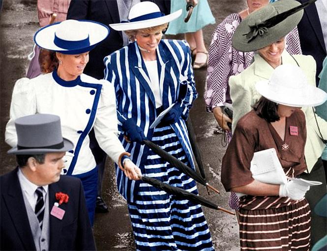 Фото №13 - Уйти от Виндзоров и остаться счастливой: история Сары Фергюсон, бывшей супруги принца Эндрю