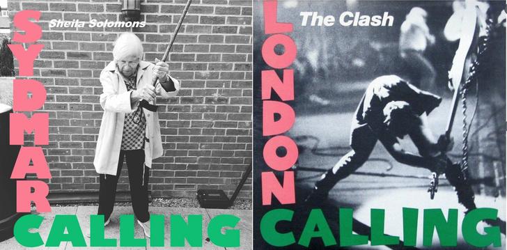 Фото №1 - Жители лондонского дома престарелых со скуки спародировали культовые музыкальные обложки (галерея)